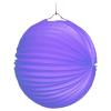 Lampion blau, rund, ø 25 cm