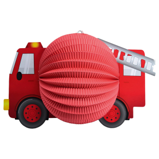 Lampion Feuerwehrauto