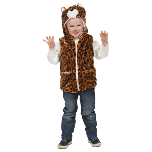 Leoparden-Weste Gr.104