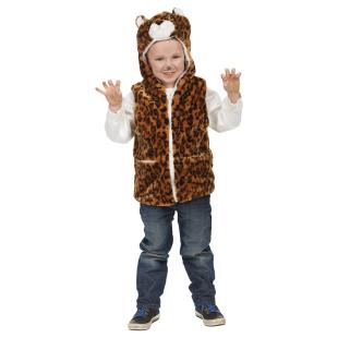 Leoparden-Weste Gr.128