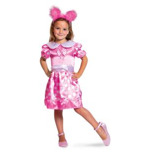 Kleid pink-gepunktet Gr.M