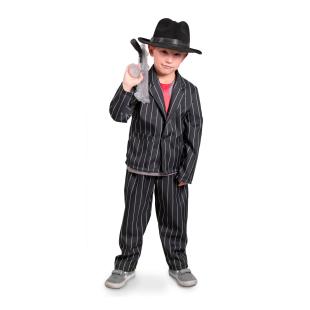 Mafia Anzug Gr.M, 6-8 Jahre