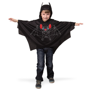 Batmancape mit Kapuze