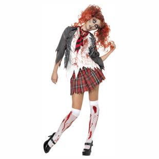 Zombie Schulmädchen, Gr.M