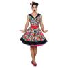 Pop Art Kleid, Gr.42
