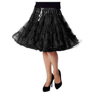 Petticoat Luxus schwarz