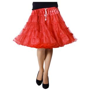 Petticoat Luxus rot