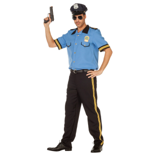 Polizist Blue Gr.52