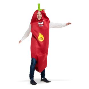 Paprika-Anzug, one size