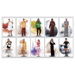 Erwachsenen Kostüme 10-fach