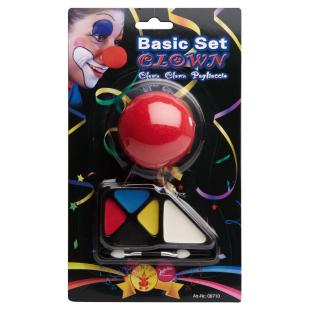 Schminkset Basic Clown