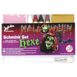 Schminkset Hexe Halloween