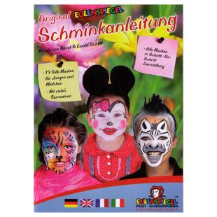Schminkbuch für 19 Masken