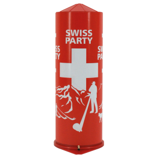 Tischbombe Swiss Party