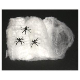 Spinnennetz weiss,