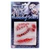 Zombie Narben assortiert