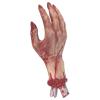 Hand abgetrennt und blutig