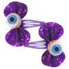 Haarclips Glitter Bow Click