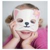 Maske Katze weiss