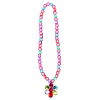 Halskette Flower Gem Bead