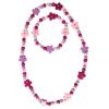 Arbmand u. Halskette Flower