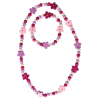Armband u. Halskette Flower