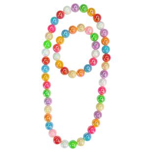 Armband u.Halskette Colour