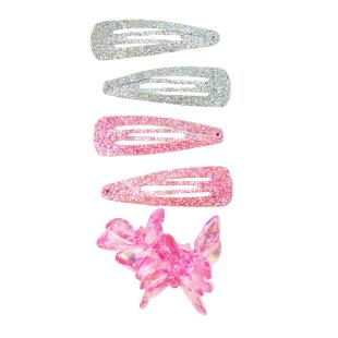 Haarclips und Gummis Fairy