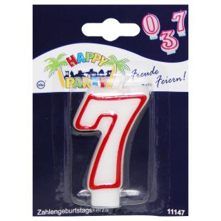 Geburtstagskerze Zahl 7