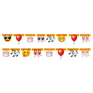 Girlande emoji