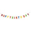 Girlande Filz Happy Birthday