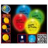 Ballon LED, Happy Birthday