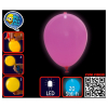 Ballon LED, uni pink