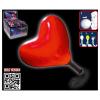 Ballon LED Fan&Fun Herz rot