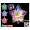 Ballon LED Happy Birthday