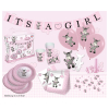 Party-Set Esel, It's a girl